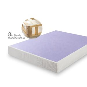 ZINUS 8 Inch Profile Wood Box Spring / Mattress Foundation size KING for Sale in Modesto, CA