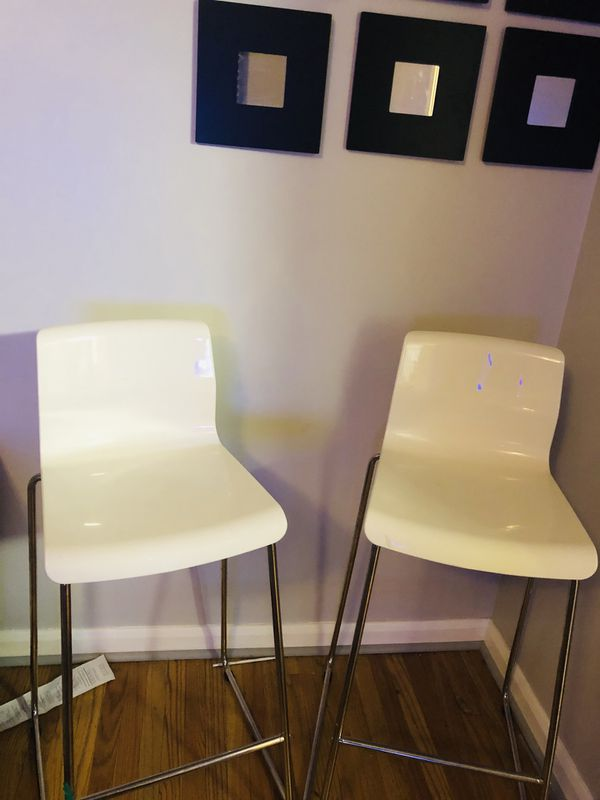 White studio chair