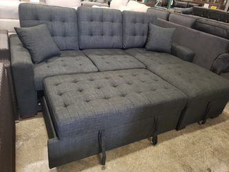 New sofa sleeper sectional tax included for Sale in Hayward,  CA
