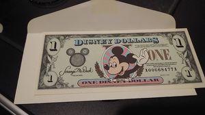 Disney dollar bill for Sale in Castro Valley, CA