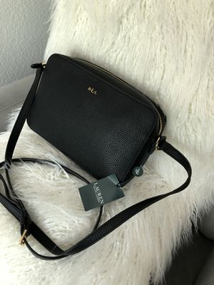 Ralph Lauren leather crossbody purse / Brand new for Sale in Houston, TX