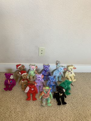 TY Beanie Baby Lot, 13 bears for Sale in Tempe, AZ