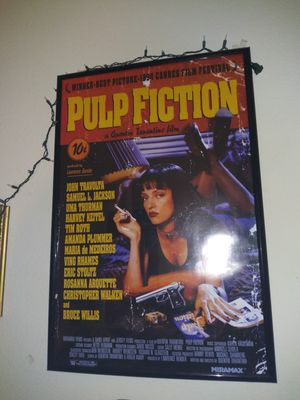 Pulp fiction poster for Sale in Santa Ana, CA