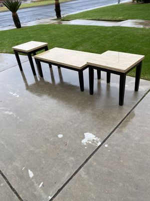 Coffee Table and 2 End Tables for Sale in Clovis, CA