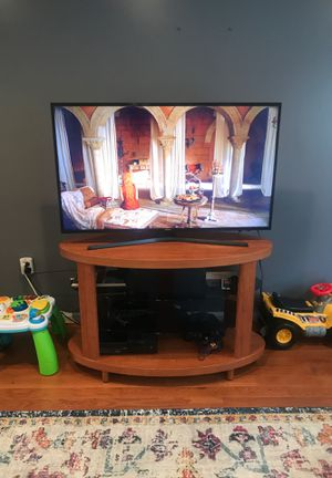 Tv stand - solid wood for Sale in Hyattsville, MD