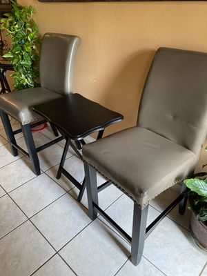 Chairs and Food Tray for Sale in Houston, TX