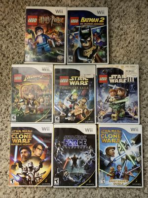 Nintendo Wii Games Harry Potter LEGO Star Wars Batman for Sale in Lewis Center, OH