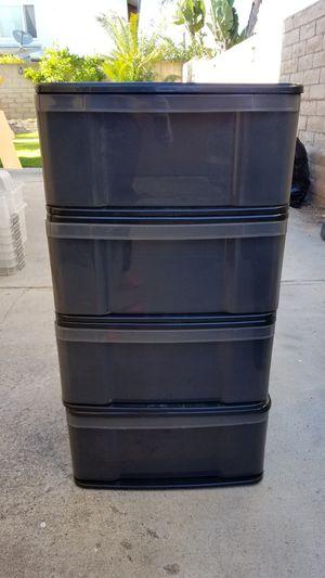Plastic drawers for Sale in Santa Ana, CA