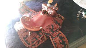 Custom Handmade Saddle for Sale in Gladewater, TX
