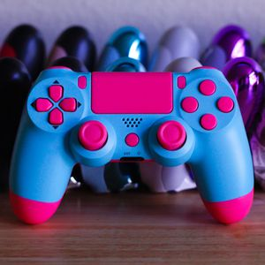 Bubble Gum - DUAL SHOCK 4 - Wireless Bluetooth Custom PlayStation Controller - PS4 / PS3 / PC for Sale in Riverside, CA