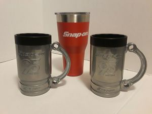 Lot of 3 Pre-owned Snap-On Mugs for Sale in Austin, TX