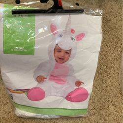 Unicorn Infant Costume 0-6 Months for Sale in Orosi,  CA
