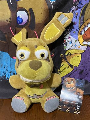 Five Nights at Freddys Funko Springtrap Plush FNAF for Sale in Phoenix, AZ
