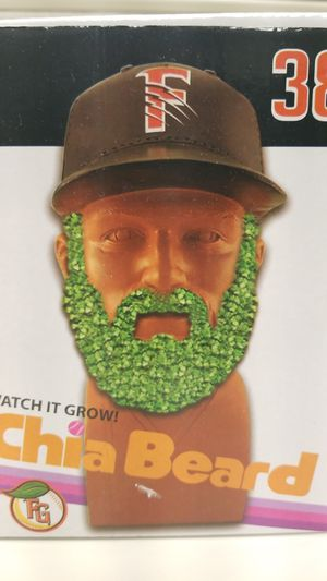 Fresno Grizzlies stadium giveaway Chia Beard for Sale in Fowler, CA