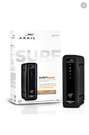 Arris surfboard (3.0 cable modem & wi-fi router) for Sale in Milton, WA