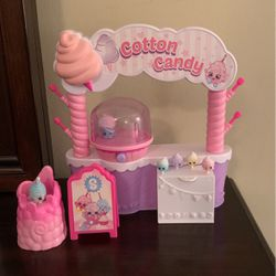 Shopkins Cotton Candy Play Set Used for Sale in Midway City,  CA