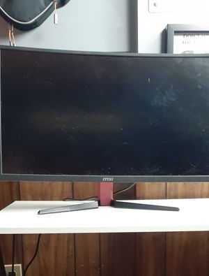 MSI Optix G27C2 Curved Monitor (For parts) for Sale in Radcliff, KY