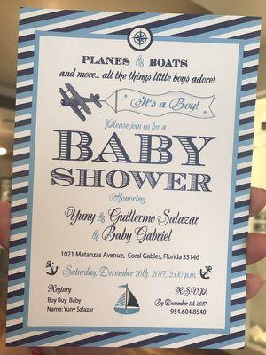$2.50 . Baby shower Boy for Sale in Miami, FL