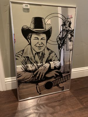 Roy Clark (Hee Haw) Wall Mirror for Sale in Reno, NV