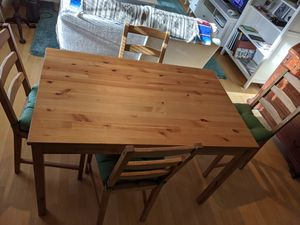Ikea table & four chairs. for Sale in DuPont, WA