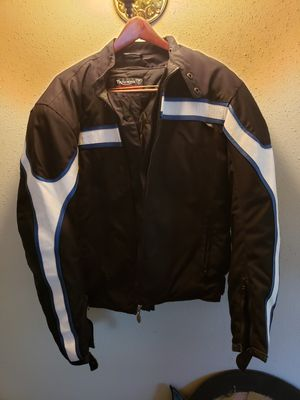 Triumph Motorcycle Jacket with inside liner for Sale in San Antonio, TX