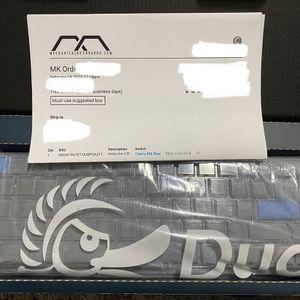 Ducky SF Mechanical Keyboard for Sale in Everett, WA