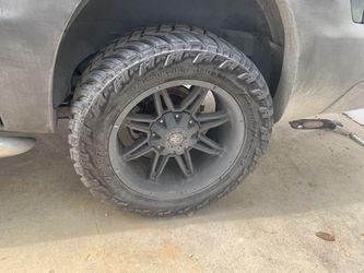 Terrain tire and rims for Sale in San Antonio,  TX