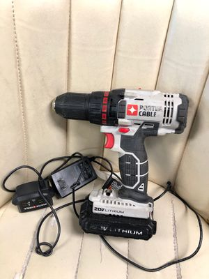 Cordless porter cable drill with battery & charger for Sale in Chesapeake, VA