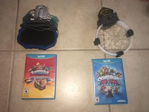 Wii/ wii portal for the sky landers game for Sale in Hialeah, FL