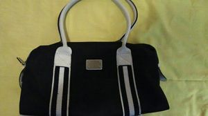 Blue Canvas Michael Kors Purse for Sale in Columbus, OH