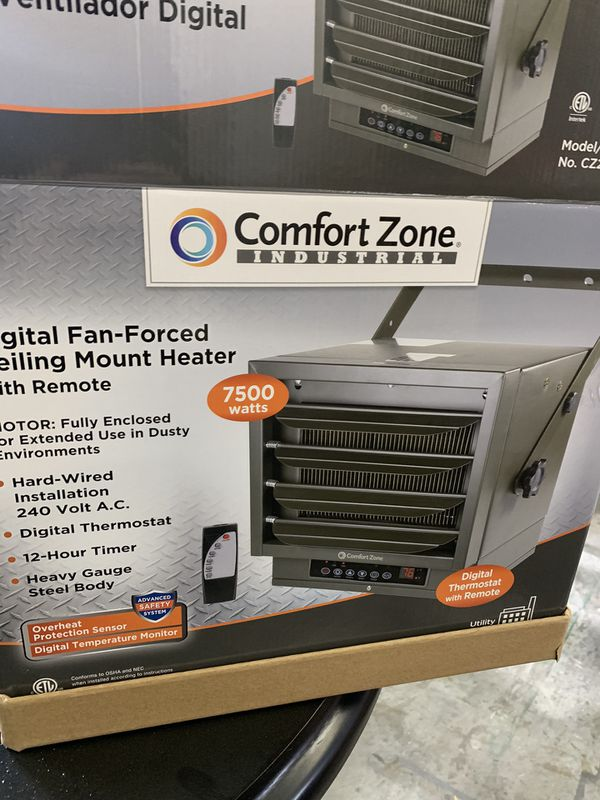 Comfort Mate Commercial Heater 7500w