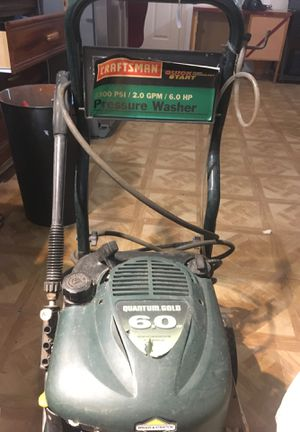 Craftsman pressure washer for Sale in NEW PRT RCHY, FL