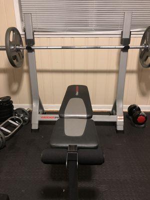 Weider Pro 350 L Folding Bench for Sale in Atlanta, GA