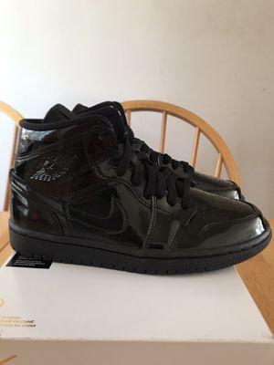 Brand new Nike air Jordan 1 triple black shoes women's 7, men's 5.5, Youth 5.5y for Sale in La Mesa, CA