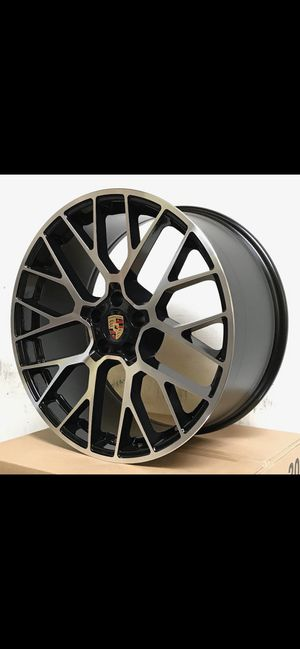 """Porsche Macan 20"""" new gts style rims tires set for Sale in Hayward, CA"""