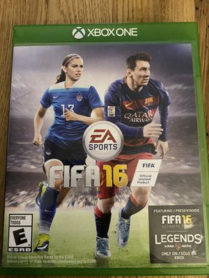 XBOX ONE FIFA 16 game for Sale in Holly Springs, NC