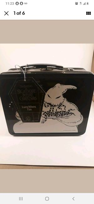 the nightmare before christmas boggie man tin lunchbox NEW for Sale in Los Angeles, CA