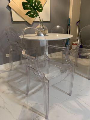 Ghost chairs still in plastic for Sale in Miami, FL