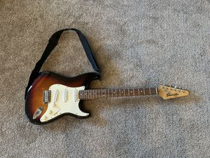 Fender guitar, case, and amp for Sale in San Luis Obispo, CA