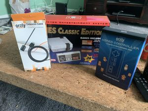 Nintendo NES Classic with second controller and extension cables for Sale in Baltimore, MD