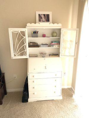Vintage Shabby Chic Secretary Desk for Sale in Herndon, VA