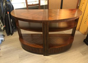 Entertainment console/sofa table for Sale in Sherwood, OR