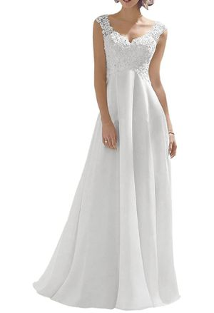 Wedding Dress Size 4 white for Sale in San Jose, CA