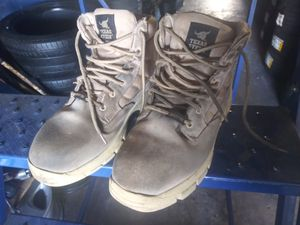 Used Size 11 steel toe short working boots for Sale in Miami Gardens, FL