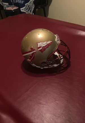 Florida state riddell full size helmet player used for Sale in NEW PRT RCHY, FL