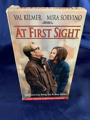 VHS Tape- Movie - At First Sight for Sale in Hemet, CA