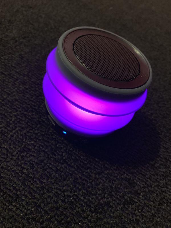 iHome Multi Glow Bluetooth Speaker
