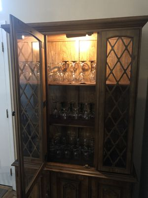 Antique China Cabinet for Sale in Gibsonton, FL