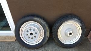 Harley davidson Fatboy Rims 99 and later for Sale in West Covina, CA