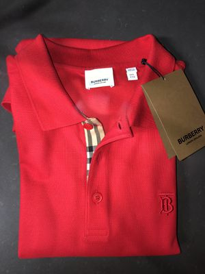 Burberry Red polo for Sale in Ontario, CA